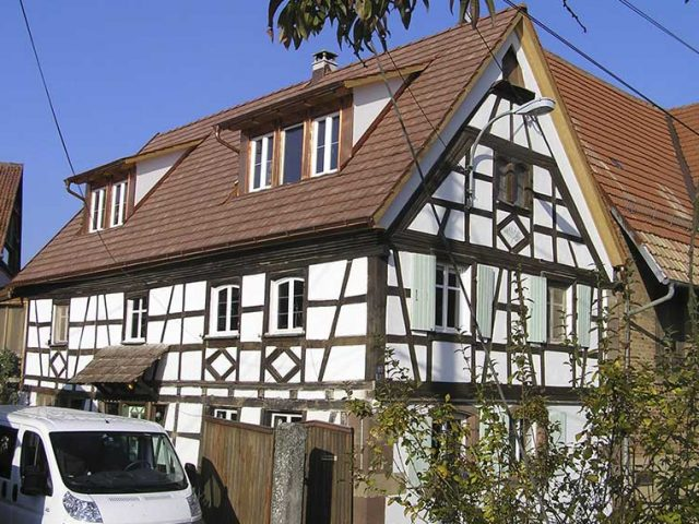 Fachwerkhaus-Sanierung