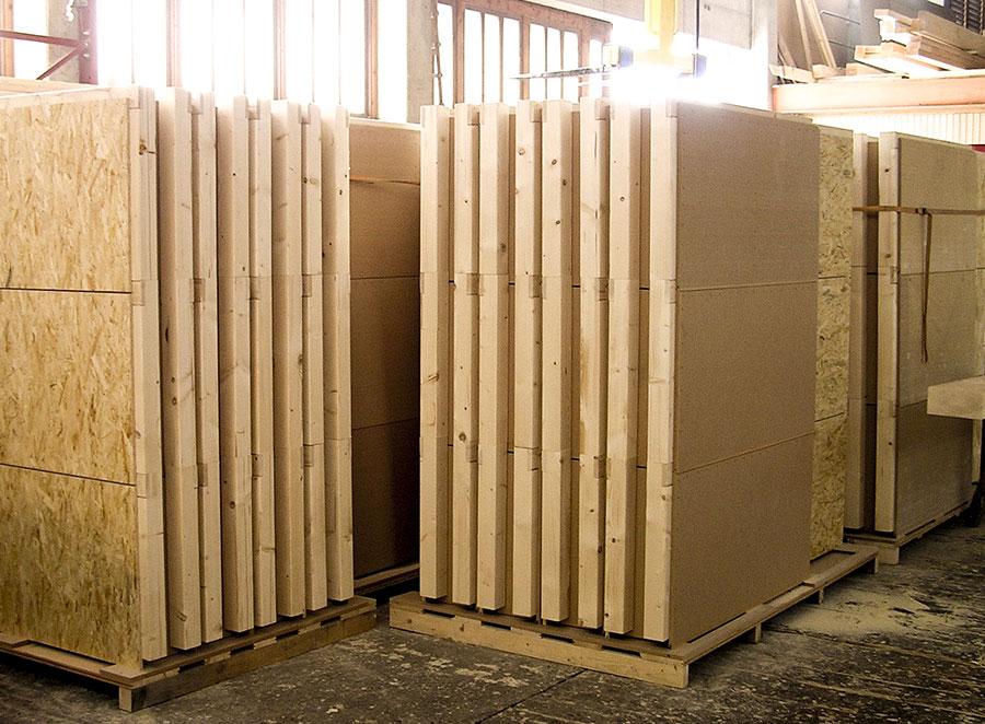 Holzbausystem