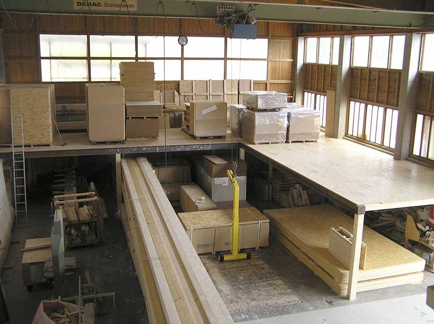 Materialüberblick für Holzbausystem